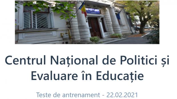 Au fost publicate teste de 'antrenament' pentru Bacalaureat şi Evaluarea Naţională